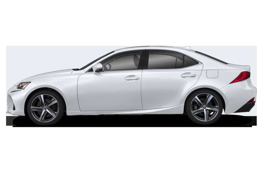 2020 Lexus IS 350 exterior side view