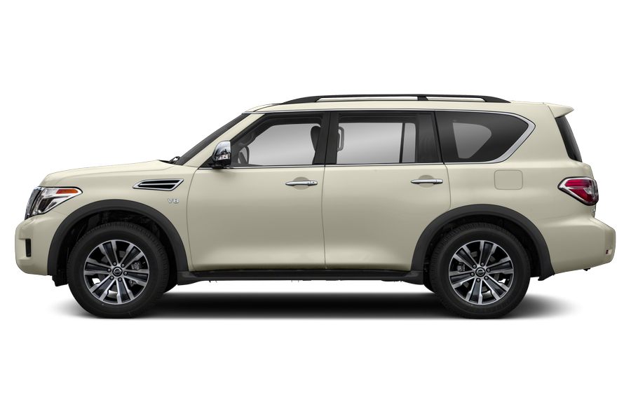 2017 Nissan Armada exterior side view