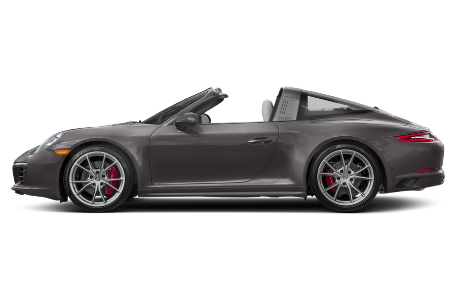 2017 Porsche 911 exterior side view