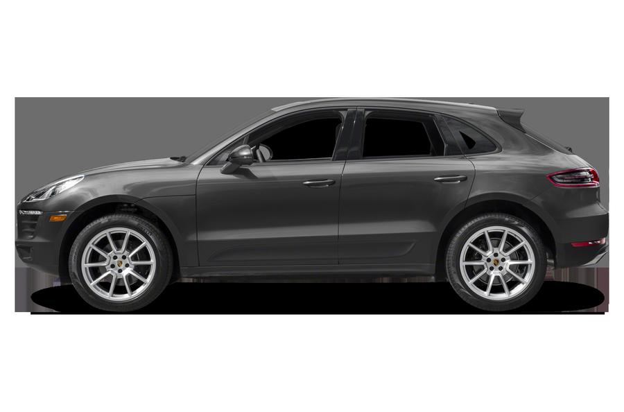 2017 Porsche Macan exterior side view