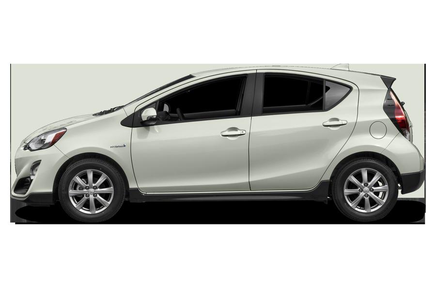 2017 Toyota Prius c exterior side view