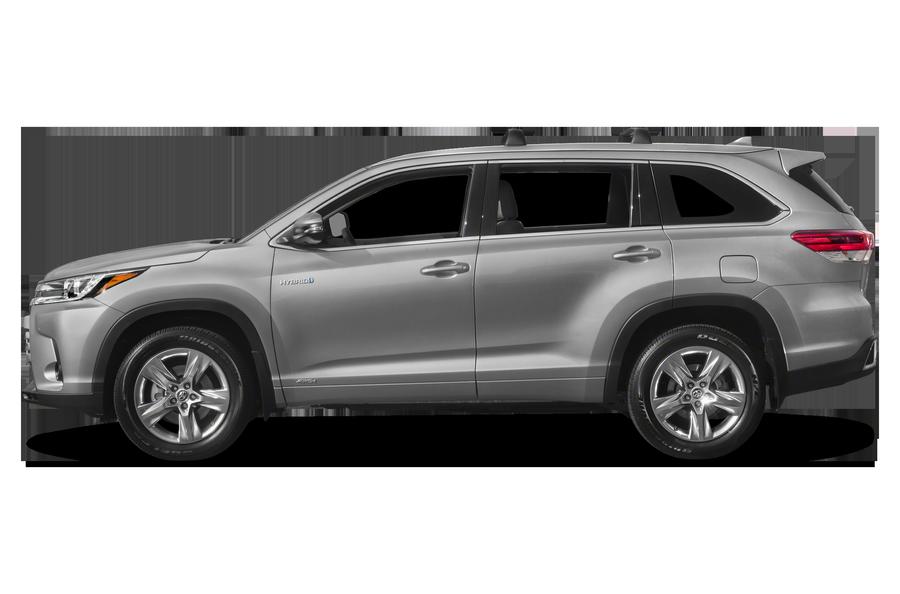 2017 Toyota Highlander Hybrid exterior side view