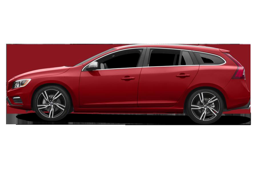 2016 Volvo V60 exterior side view