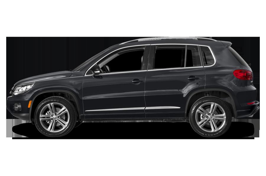 2017 Volkswagen Tiguan exterior side view