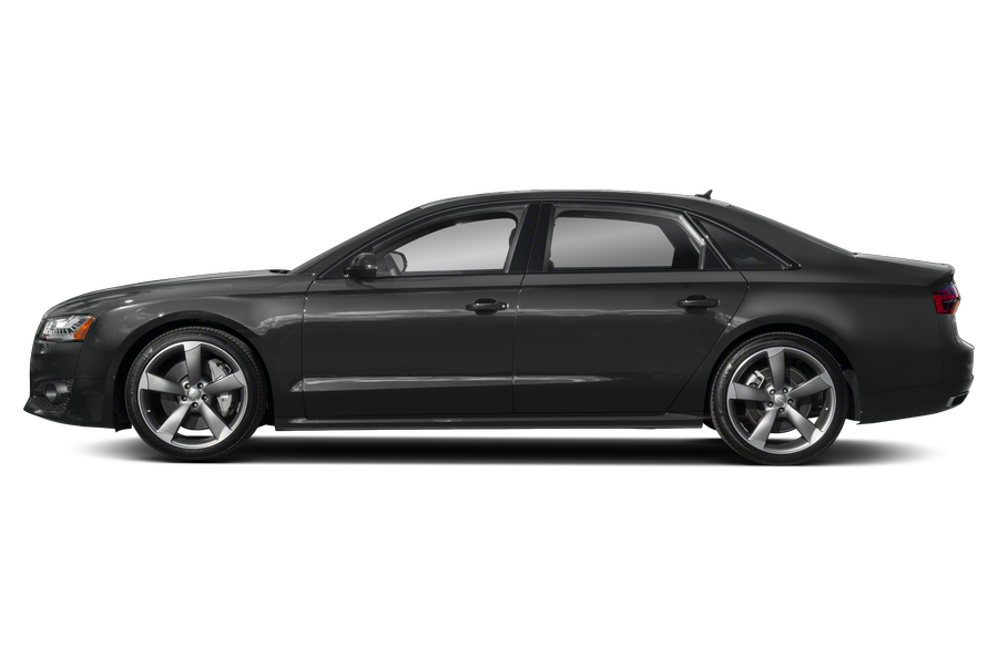 2018 Audi A8 exterior side view