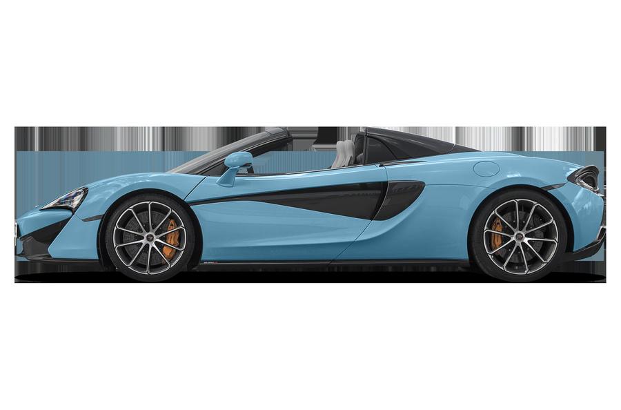 2018 McLaren 570S exterior side view