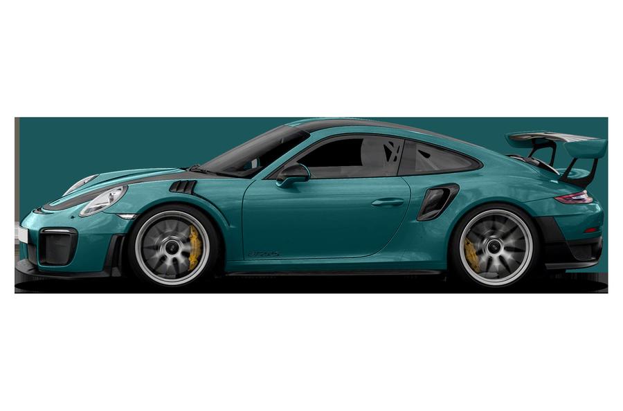 2018 Porsche 911 exterior side view