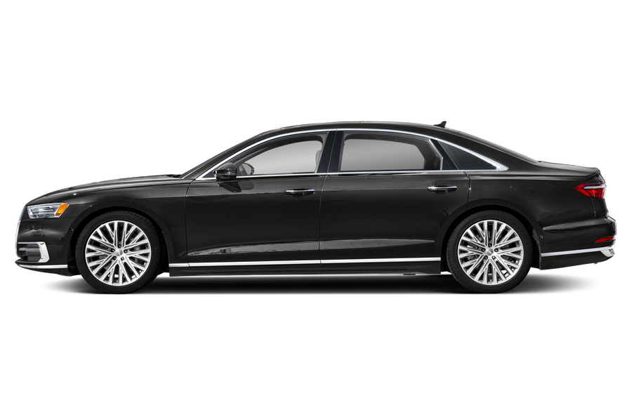 2021 Audi A8 exterior side view