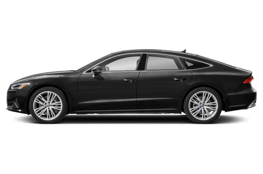 2021 Audi A7 exterior side view