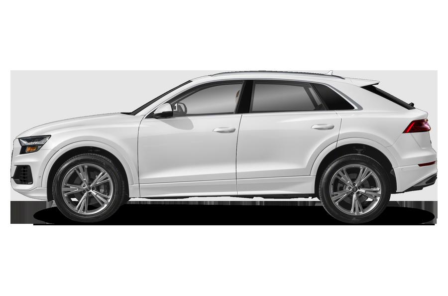 2021 Audi Q8 exterior side view