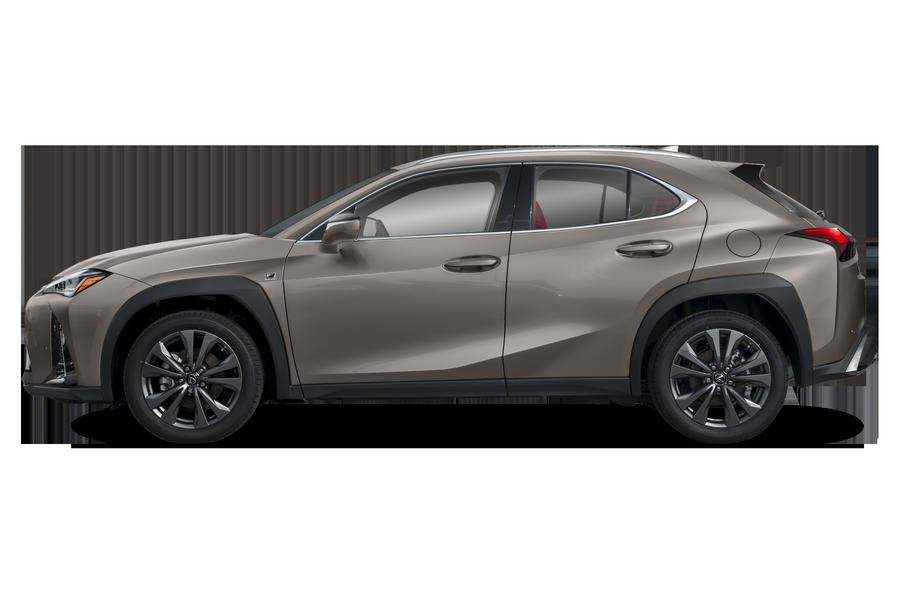 2020 Lexus UX 200 exterior side view