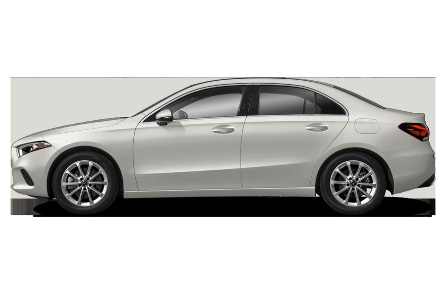 2021 Mercedes-Benz A-Class exterior side view
