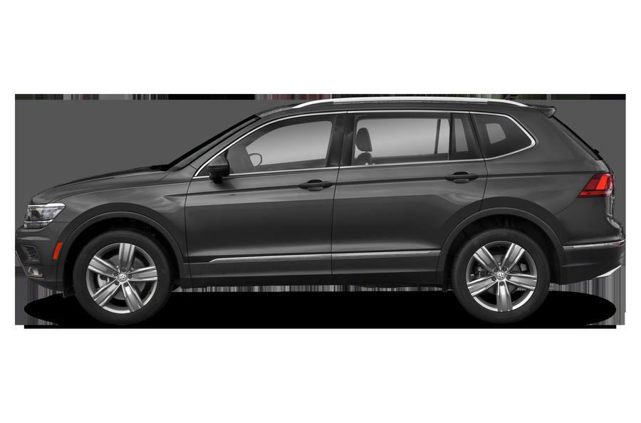 2018 Volkswagen Tiguan exterior side view