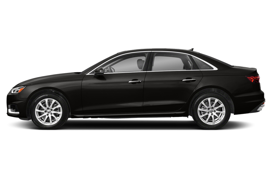 2021 Audi A4 exterior side view