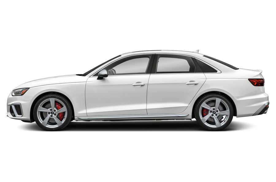 2021 Audi S4 exterior side view