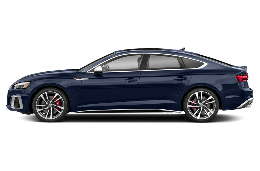 2021 Audi S5 exterior side view