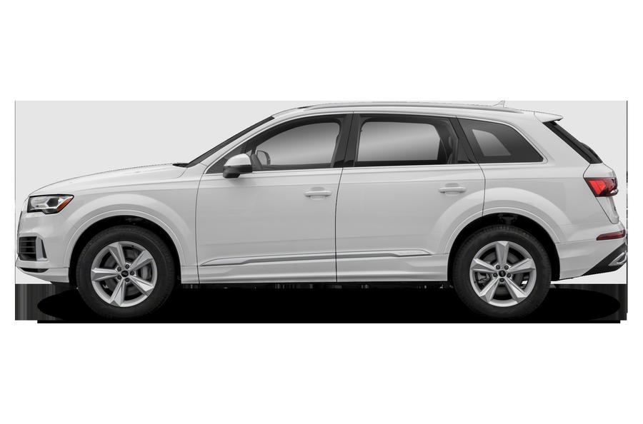 2021 Audi Q7 exterior side view