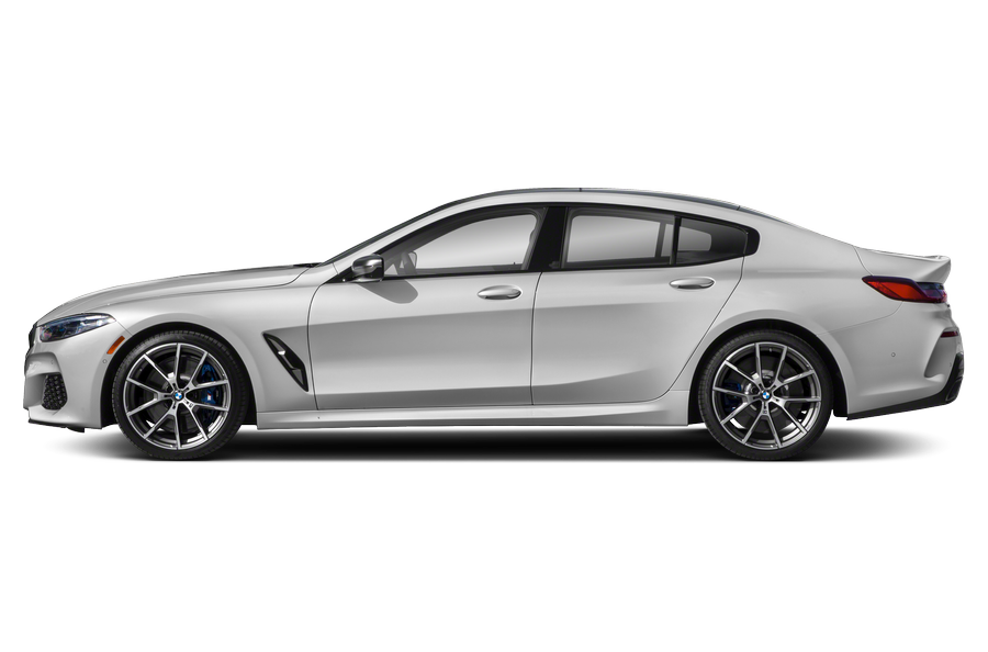2021 BMW M850 Gran Coupe exterior side view