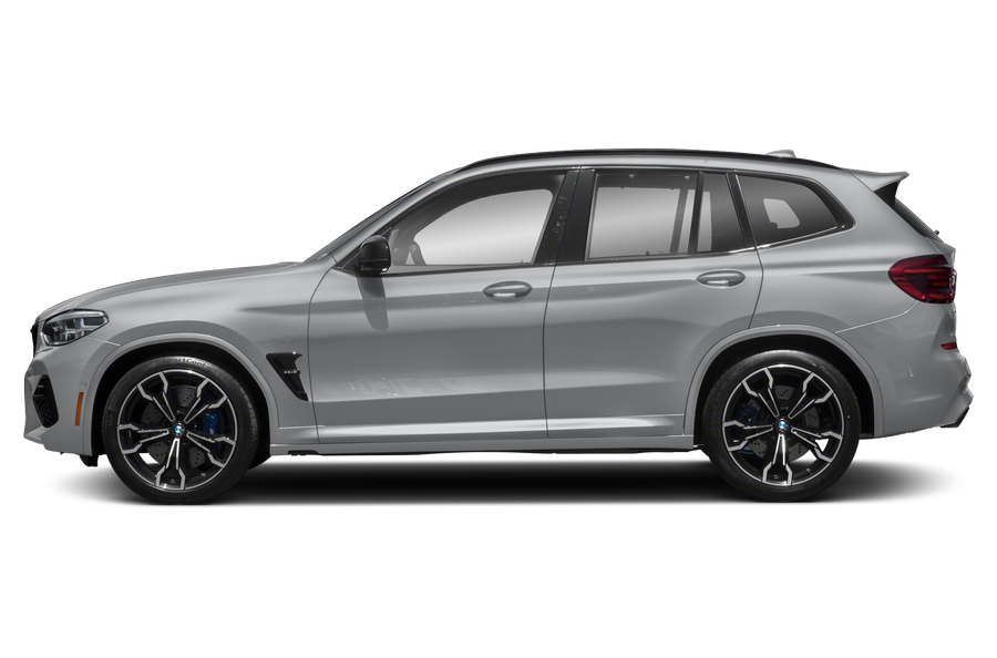 2021 BMW X3 M exterior side view
