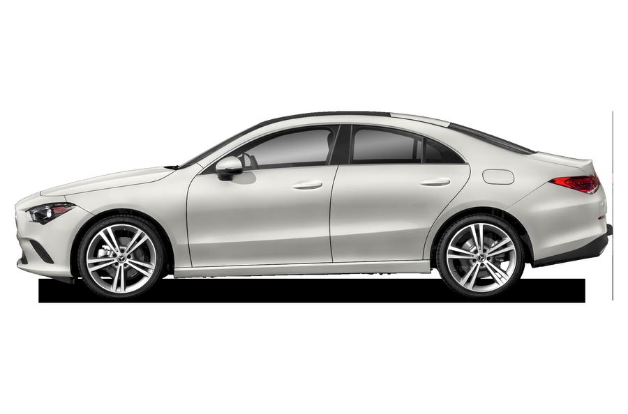 2021 Mercedes-Benz CLA 250 exterior side view