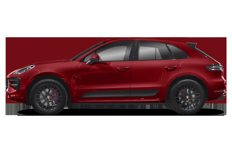 2020 Porsche Macan exterior side view