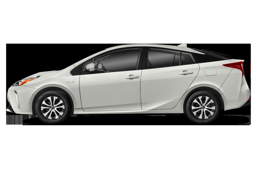 2020 Toyota Prius exterior side view