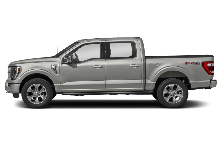 2021 Ford F-150 exterior side view
