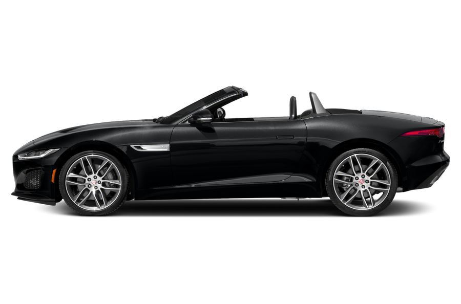 2021 Jaguar F-TYPE exterior side view