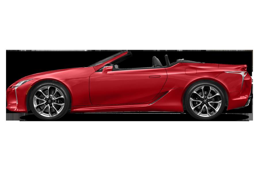 2021 Lexus LC 500 exterior side view