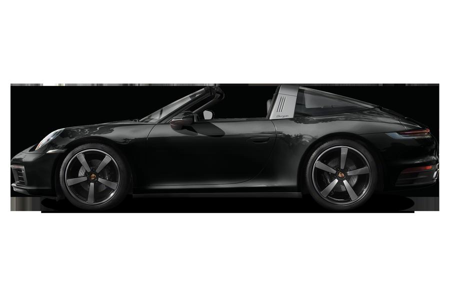 2021 Porsche 911 exterior side view