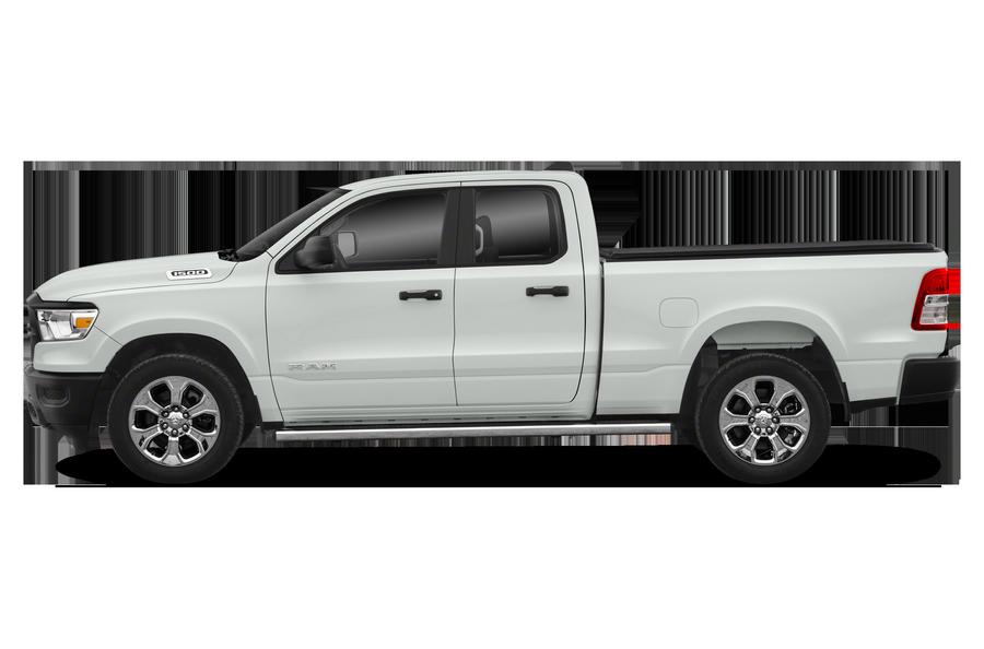 2019 RAM 1500 exterior side view
