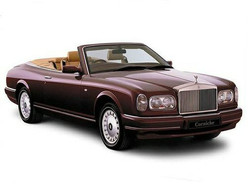 1992 2002 Corniche Generation Rolls Royce Model Shown