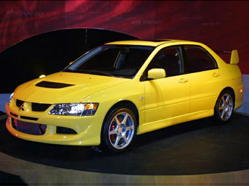 2003 mitsubishi lancer evolution overview. Black Bedroom Furniture Sets. Home Design Ideas