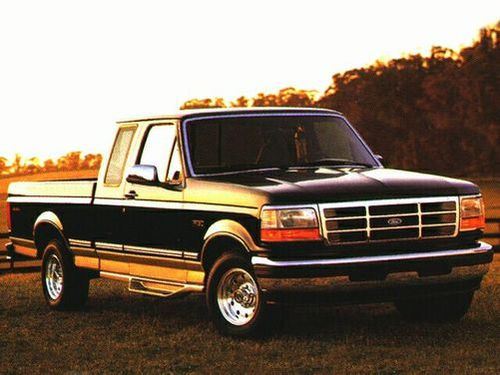 1996 ford f150 short bed length