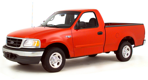 2000 ford f 150 work series 4x2 regular cab styleside 119 9 in wb. Black Bedroom Furniture Sets. Home Design Ideas