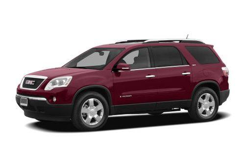 2007 Gmc Acadia Trim Levels Configurations At A Glance Cars Com