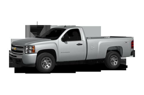 2010 chevrolet silverado 1500 work truck 4x2 regular cab 6 6 ft box 119 in wb. Black Bedroom Furniture Sets. Home Design Ideas