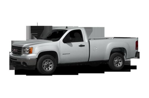2010 gmc sierra 1500 work truck 4x2 regular cab 6 6 ft box 119 in wb. Black Bedroom Furniture Sets. Home Design Ideas