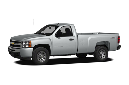 2011 chevrolet silverado 1500 work truck 4x2 regular cab 6 6 ft box 119 in wb. Black Bedroom Furniture Sets. Home Design Ideas
