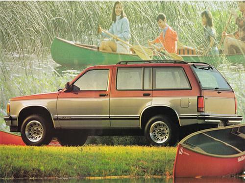 1992 Chevrolet S-10 Blazer