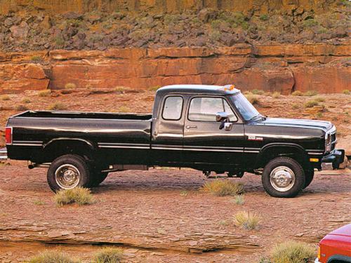 1992 Dodge D150