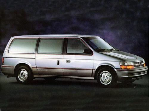 1992 Dodge Grand Caravan Trim Levels  Configurations At A Glance