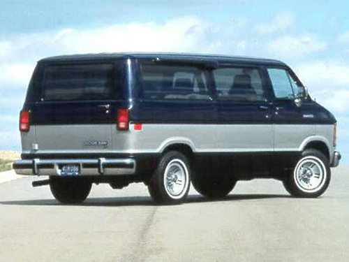 1992 Dodge Ram Wagon