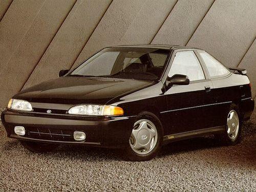 1992 Hyundai Scoupe