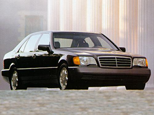 1992 mercedes benz s class overview for Mercedes benz 1992