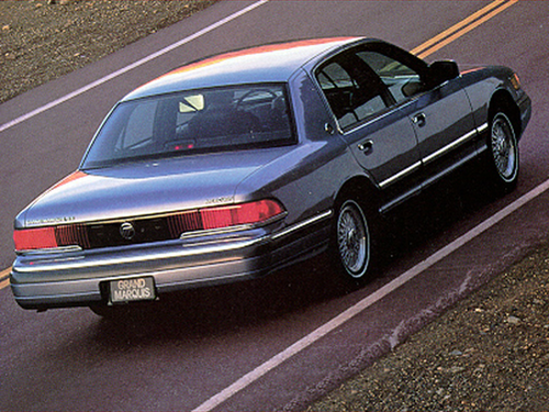 1992 Mercury Grand Marquis Overview