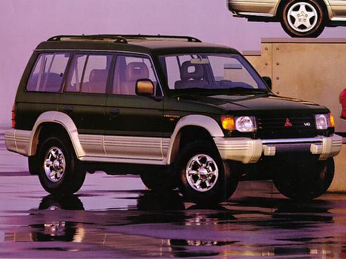 1992 Mitsubishi Montero
