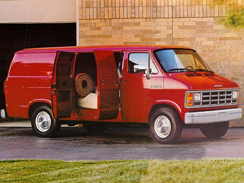 1993 Dodge Ram Wagon
