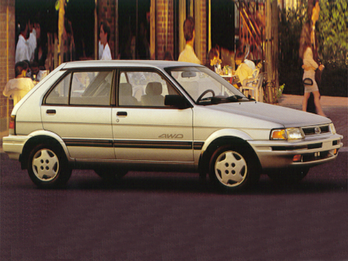 1993 Subaru Justy