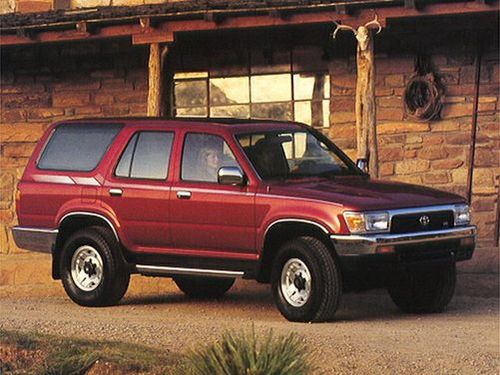 1993 toyota 4runner overview. Black Bedroom Furniture Sets. Home Design Ideas